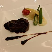 メイン牛フィレ肉