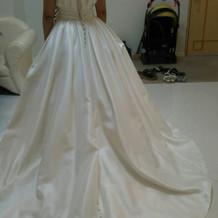 白ドレス(バービー)