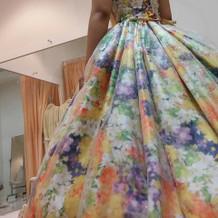 カラードレス(蜷川ブランド)