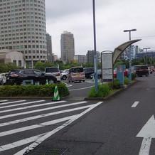 駐車場は広いです