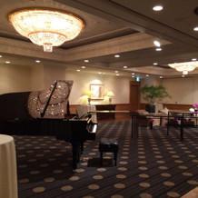 ピアノのある会場も