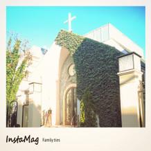緑あふれる教会