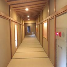 廊下も畳です。