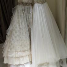 提携店フォーシスのドレスとジルのドレス
