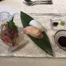 祝い寿司とお造里