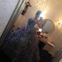 こちらが大好評だったドレスです!