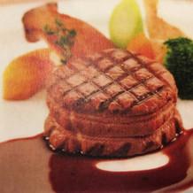 豊後牛フィレ肉ステーキ
