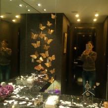 トイレ化粧鏡