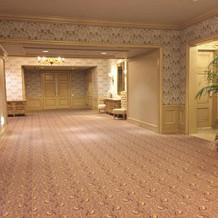 ホテル棟廊下