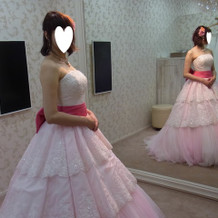ピンクも可愛かった