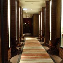 披露宴会場その2 廊下