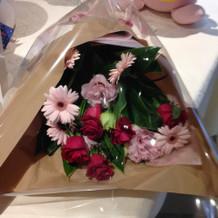 贈呈用花束例