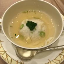 スープはとても味がしっかり。