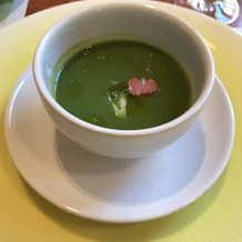ブロッコリーのスープ。