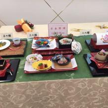 最終的に選んだ日本食コース
