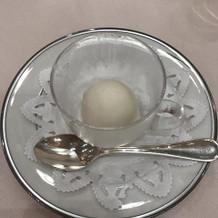 グレープフルーツシャーベット