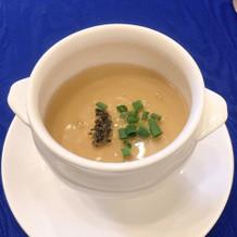 茶碗蒸しのようなスープ