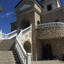 チャペルの大階段