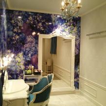 蜷川さんプロデュースの部屋
