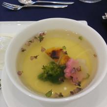 茶碗蒸しにスープなります