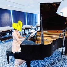 グランドピアノで高級感を演出