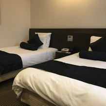 ホテルのお部屋です。