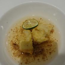 魚とスープ 味は普通でした。