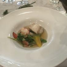 スープ オマール海老のコンソメ