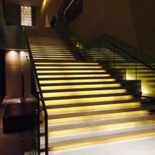 写真撮影スポットにもなる階段