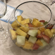 テーブルラウンド用フルーツ