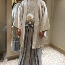 新郎紋服(白)