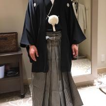 新郎紋服(黒)