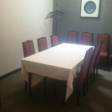 親族控え室