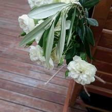 飾りのお花