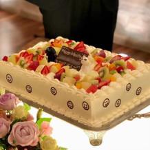 ケーキカット用の生ケーキ