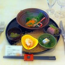 和食でした!