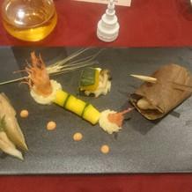 お魚料理!