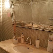 お手洗い、鏡も記入可