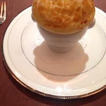 ふかひれのクリームスープ