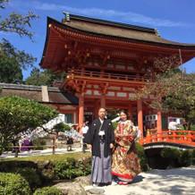 1番上賀茂神社らしい場所です。