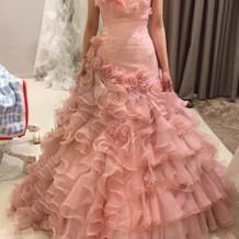 ピンクのマーメイドも