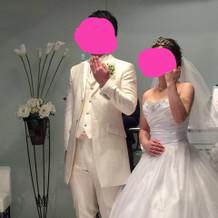 プラン内のドレスとタキシード