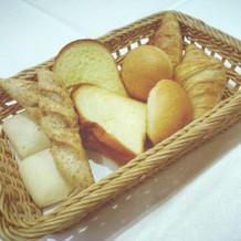 パン食べ放題! 柔らかいパンが好き