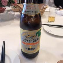 大分仕様のビール