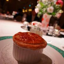 シャンピニオンの濃厚クリームスープ