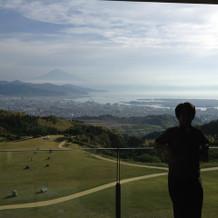 天気が良ければ富士山が見える景色
