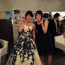 二次会ドレス(2way)