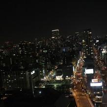 グリニッジホールから見える夜景