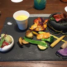 右下の多肉植物?のお野菜でした