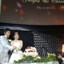 素敵な結婚式になりました。